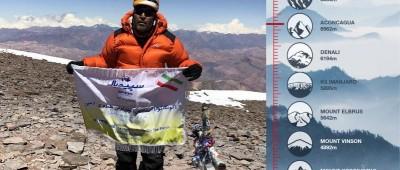 نام برند سپیدبال بر بام قاره آمریکا و بلندترین قله غیر آسیایی جهان.